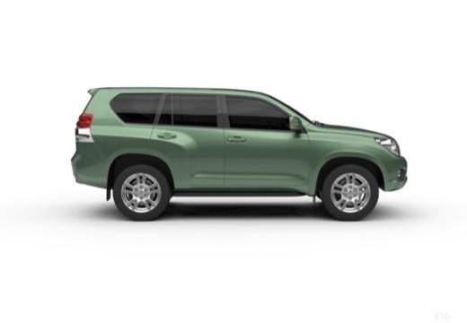 Toyota Land Cruiser 150 I kombi boczny prawy