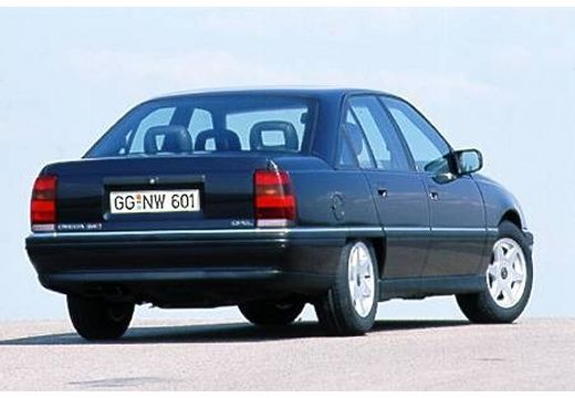 OPEL Omega A II sedan niebieski jasny tylny prawy
