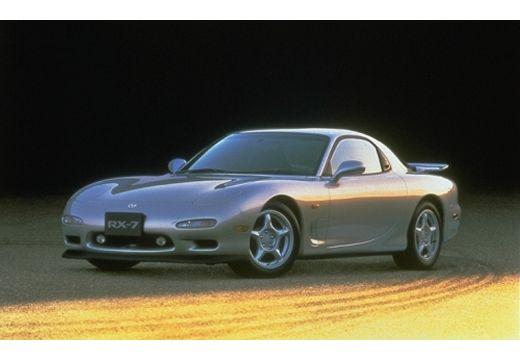 MAZDA RX-7 coupe silver grey przedni lewy