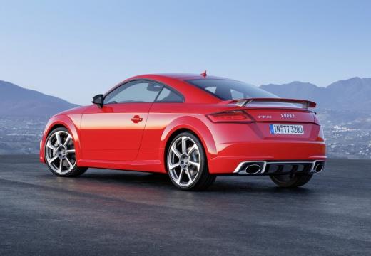 AUDI TT III coupe czerwony jasny tylny lewy