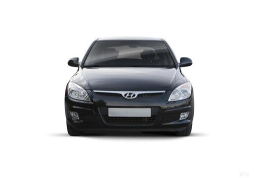 HYUNDAI i30 I hatchback czarny przedni