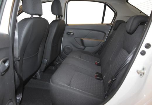 DACIA Logan III sedan wnętrze