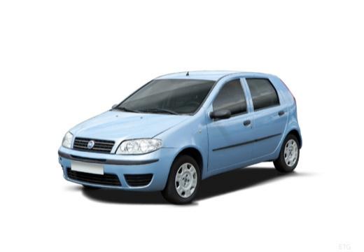 FIAT Punto II II hatchback niebieski jasny przedni lewy