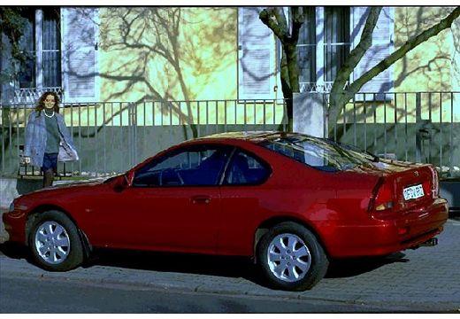 HONDA Prelude coupe bordeaux (czerwony ciemny) tylny lewy
