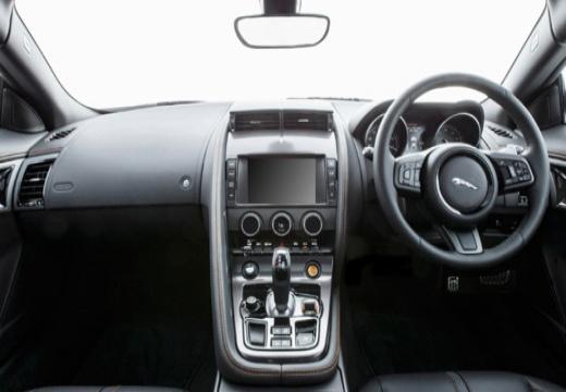 JAGUAR F-Type I coupe biały tablica rozdzielcza