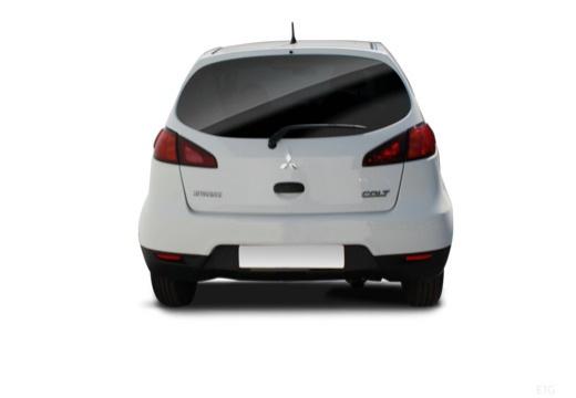 MITSUBISHI Colt hatchback biały tylny