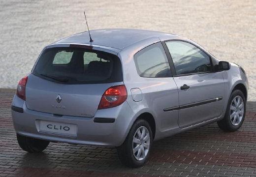 RENAULT Clio III I hatchback silver grey tylny prawy