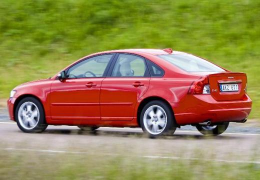 VOLVO S40 V sedan czerwony jasny tylny lewy