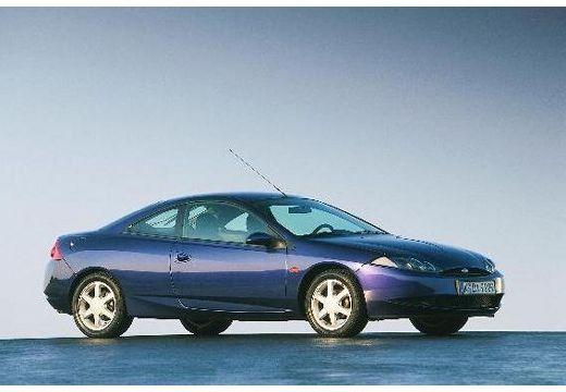 FORD Cougar coupe niebieski jasny przedni prawy