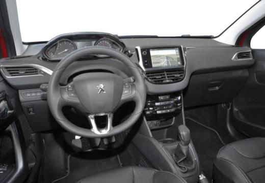 PEUGEOT 208 I hatchback tablica rozdzielcza