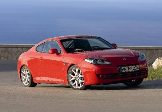 HYUNDAI coupe czerwony jasny przedni prawy