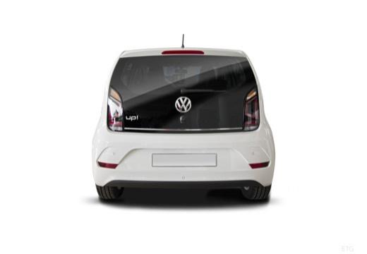VOLKSWAGEN up e- FL hatchback biały tylny