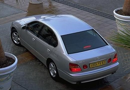 LEXUS GS sedan silver grey tylny lewy
