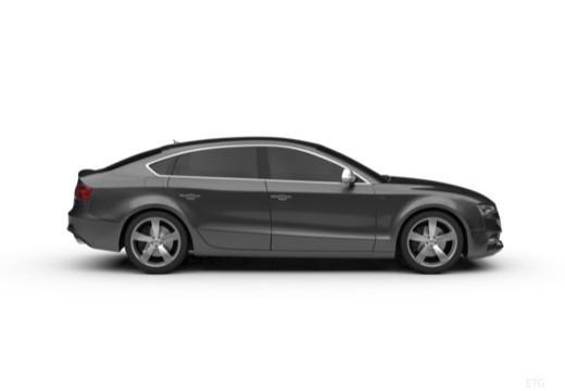 AUDI A5 Sportback II hatchback boczny prawy