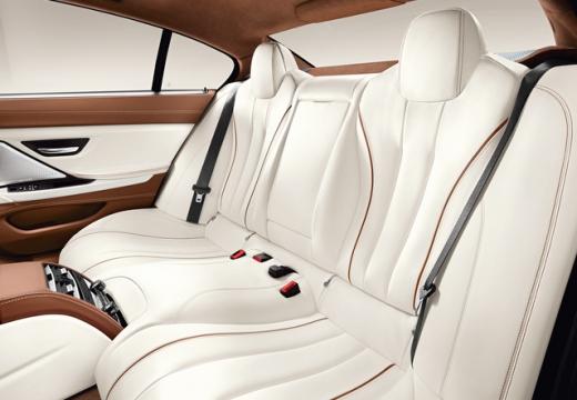 BMW Seria 6 Gran Coupe F06 I sedan wnętrze