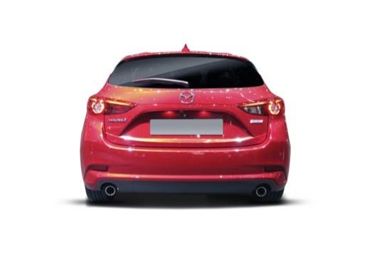 MAZDA 3 VI hatchback tylny