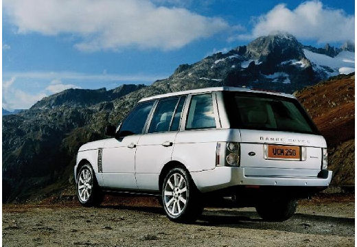 LAND ROVER Range Rover IV kombi silver grey tylny lewy