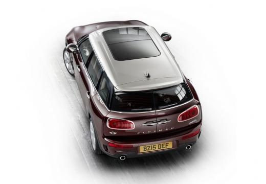 MINI [BMW] Clubman kombi bordeaux (czerwony ciemny) górny tylny