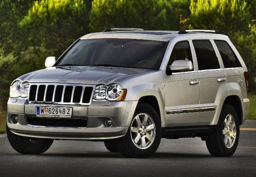 JEEP Grand Cherokee kombi silver grey