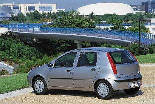 FIAT Punto II I hatchback silver grey tylny lewy