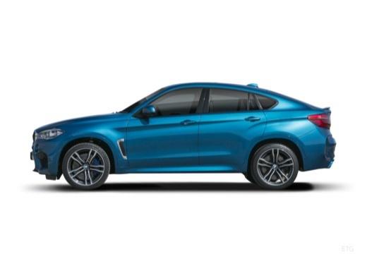 BMW X6 hatchback boczny lewy