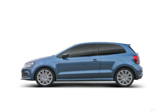 VOLKSWAGEN Polo hatchback boczny lewy