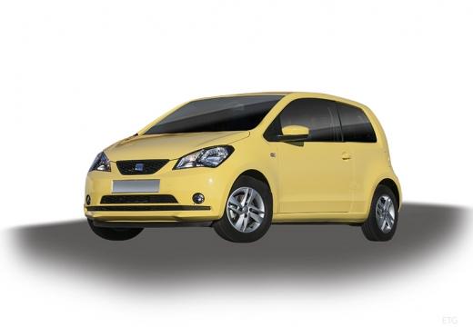 SEAT Mii I hatchback żółty