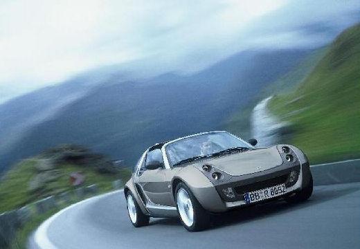 SMART roadster - coupe silver grey przedni prawy