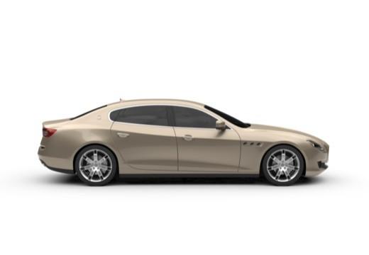 MASERATI Quattroporte sedan boczny prawy