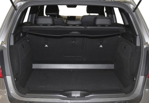 MERCEDES-BENZ Klasa B III hatchback przestrzeń załadunkowa