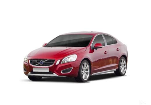 VOLVO S60 IV sedan czerwony jasny przedni lewy