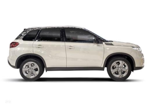 SUZUKI Vitara II hatchback biały boczny prawy