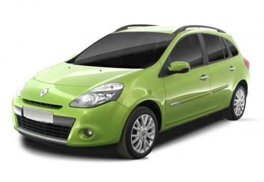 RENAULT Clio III Grandtour II kombi zielony jasny