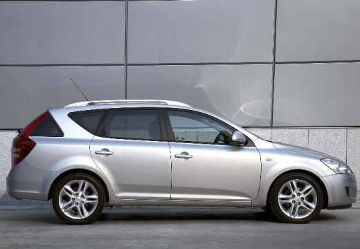 KIA Ceed Sporty Wagon I kombi silver grey boczny prawy