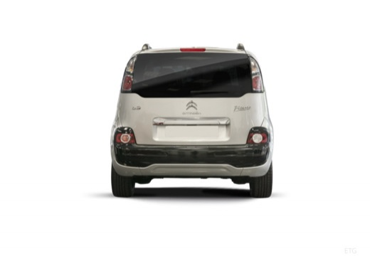CITROEN C3 Picasso II hatchback silver grey tylny