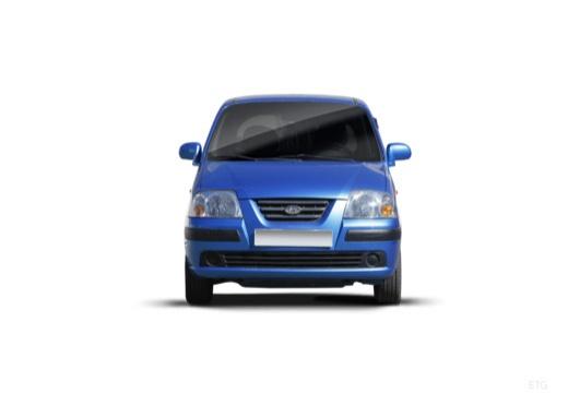 HYUNDAI Atos Prime III hatchback niebieski jasny przedni