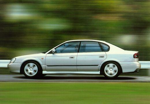 SUBARU Legacy III sedan silver grey boczny lewy