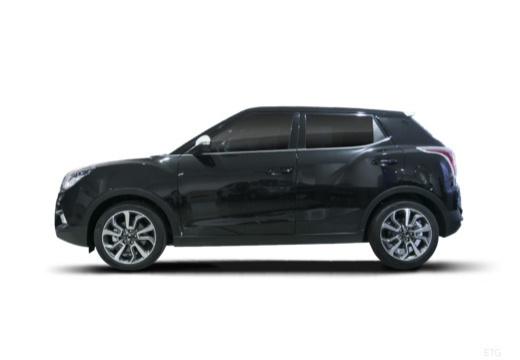 SSANG YONG Tivoli hatchback czarny boczny lewy