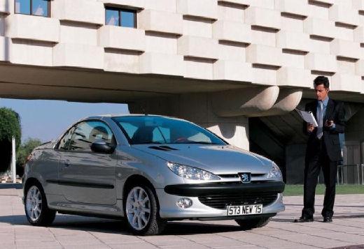 PEUGEOT 206 CC I kabriolet silver grey przedni prawy