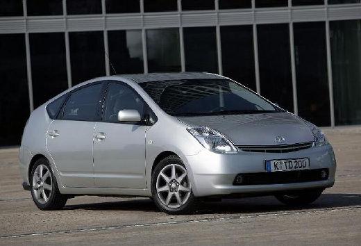 Toyota Prius hatchback silver grey przedni prawy