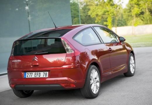 CITROEN C4 II hatchback czerwony jasny tylny prawy