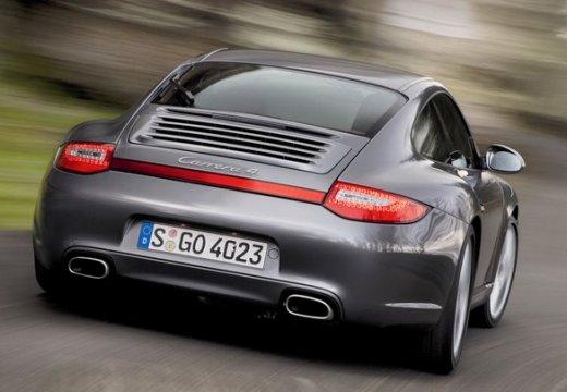 PORSCHE 911 997 coupe szary ciemny tylny prawy