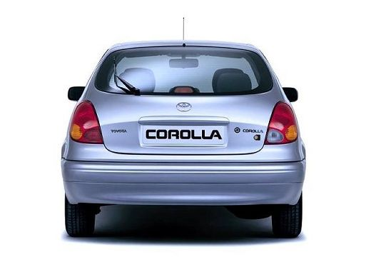 Toyota Corolla Liftback V hatchback silver grey tylny
