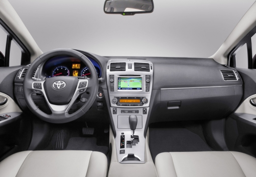 Toyota Avensis VI sedan tablica rozdzielcza