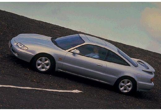 MAZDA MX-6 coupe silver grey przedni lewy