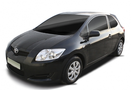 Toyota Auris I hatchback czarny