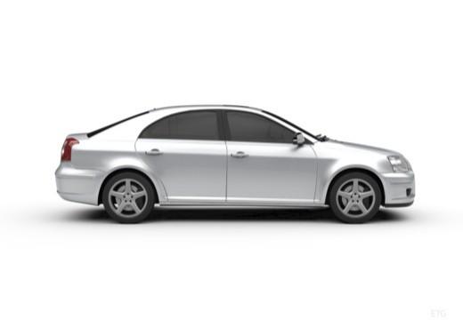 Toyota Avensis Liftback IV hatchback boczny prawy