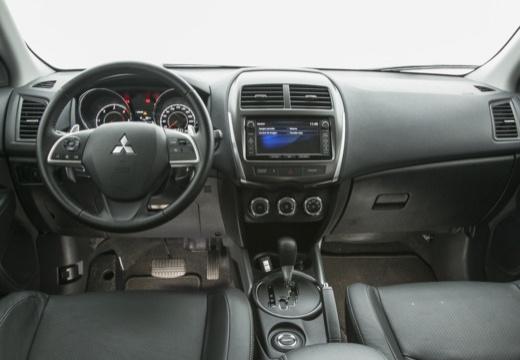 MITSUBISHI ASX II hatchback szary ciemny tablica rozdzielcza