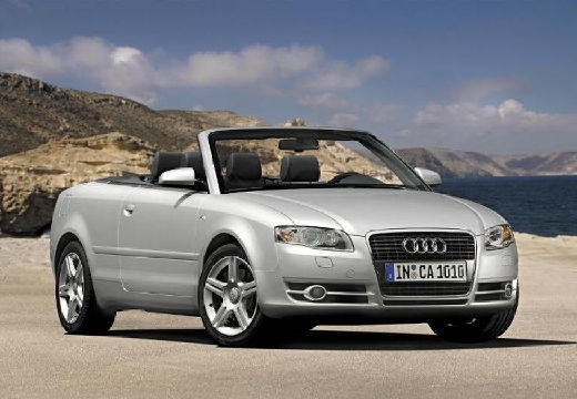 AUDI A4 2.0 TDI DPF Multitronic Kabriolet Cabriolet 8H II 140KM (diesel)