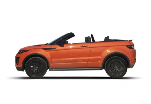 LAND ROVER Range Rover kabriolet boczny lewy